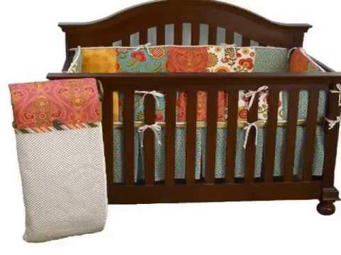 Get Cotton Tale Designs Gypsy 4 Piece Crib Bedding Set Top