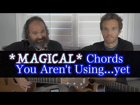 MAGICAL Guitar Chords You Aren't Using...!