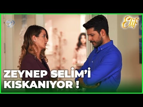 Zeynep Selim'i Kıskanıyor - Elif 451.Bölüm
