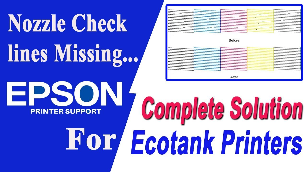 Epson Printer Not Printing Properly | Printing blank