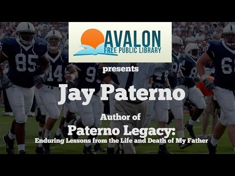 An Interview with Jay Paterno - Author of
