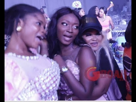 SeeEniola Ajao, Mercy Aigbe, Toyin Abraham  Funny Dancing At Star-Studded Wedding