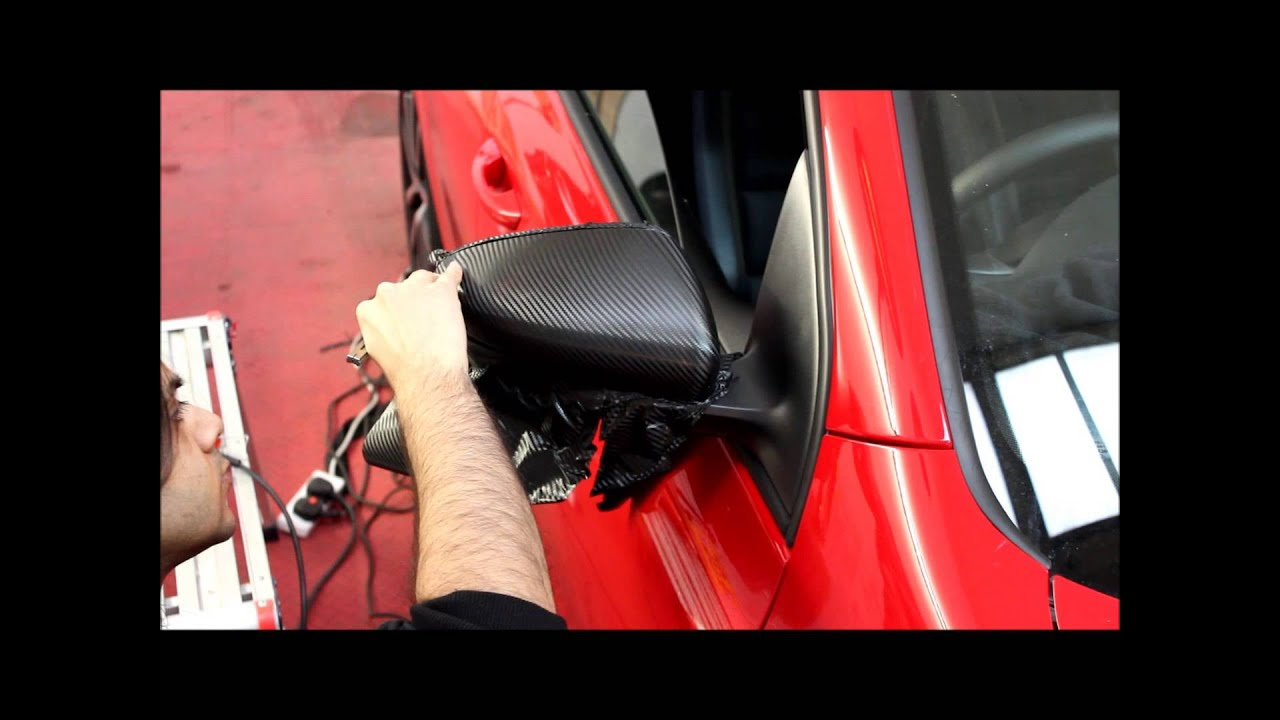 Golf Gtd Wing Mirror Carbon Wrap Youtube
