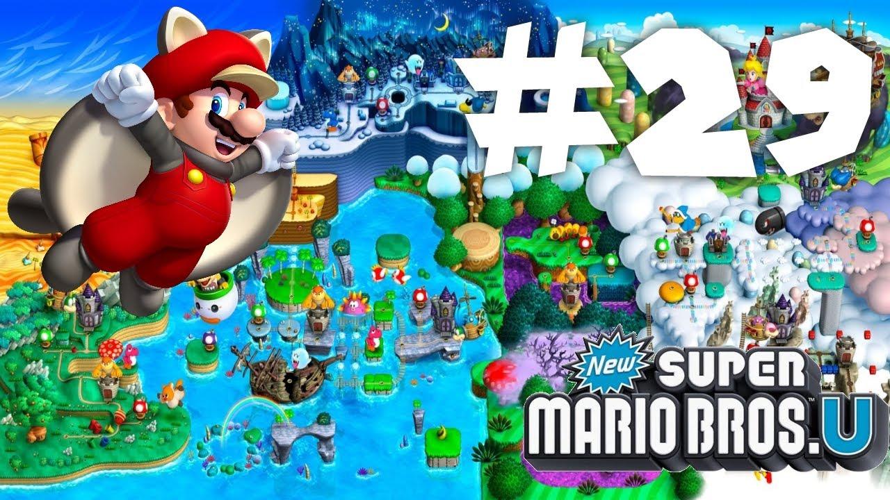 New Super Mario Bros Wii U - 29 - Supersterstraat - YouTube
