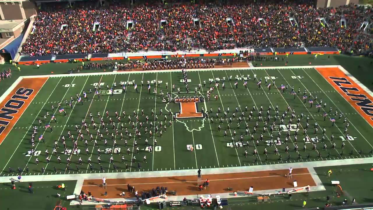 Marching Illini Halftime Show  Salute to Veteran s Day  99f2debe0