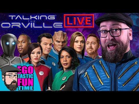 TALKING THE ORVILLE LIVE SHOW 'SPLOSION   Season 3 Fan Predictions 12-05-19