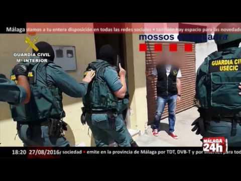 Málaga 24h TV - Desarticulada una banda dedicada al narcotráfico que operó desde Málaga