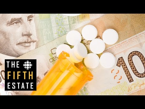 Expensive Prescription Drugs In Canada : Canada's Health Care Problem - The Fifth Estate