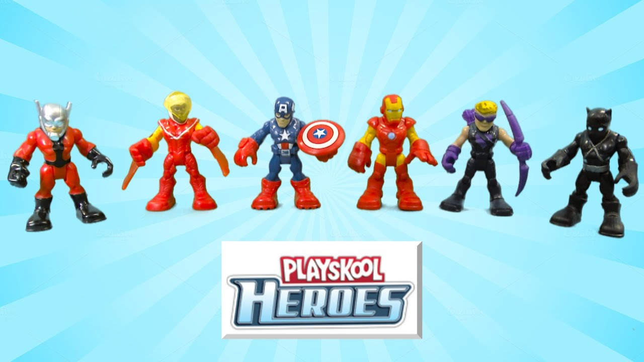 playskool heroes captain america super jungle squad from hasbro