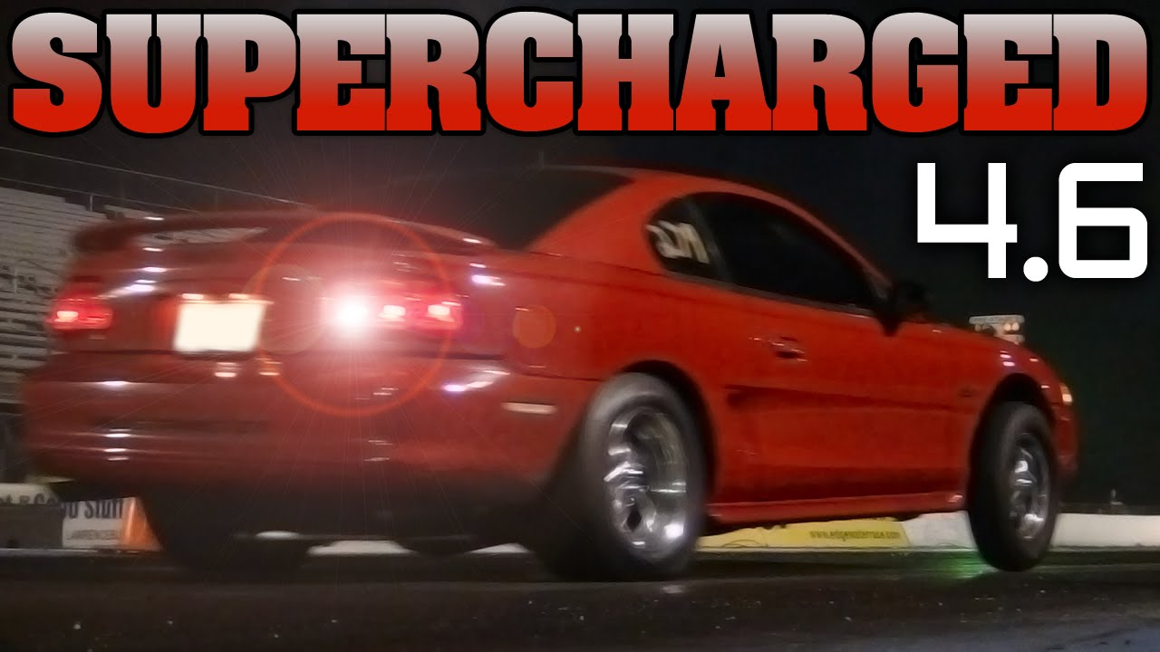 10 Second Supercharged Sn95 Mustang Gt Drag Racing