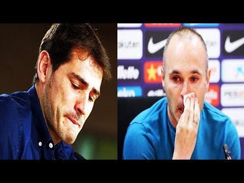 Las Despedidas más tristes de Grandes Futbolistas | Fútbol Social
