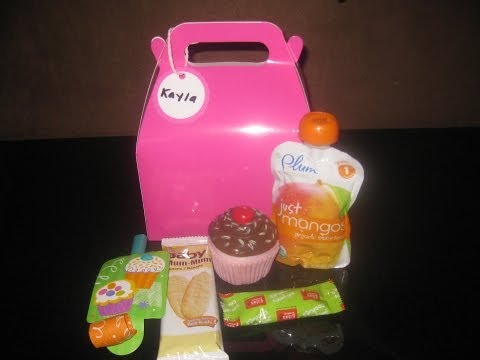 Goody Bags for Babies!-Cupcake Theme 1st Birthday!