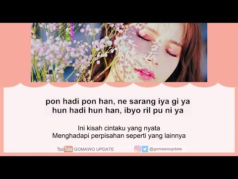 Easy Lyric MAMAMOO - WIND FLOWER By GOMAWO [Indo Sub]