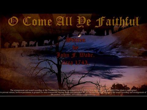 """""""O Come All Ye Faithful"""" with Choir Classic Christmas Carol - YouTube"""