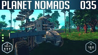 PLANET NOMADS #035 | Mobile Base - Transporter | Gameplay Deutsch thumbnail