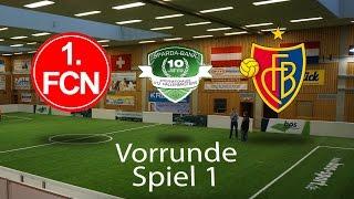 Spiel 01: 1. FC Nürnberg 4-0 FC Basel │U12 Hallenmasters TuS Traunreut 2017