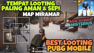 Tempat Looting Paling Sepi & Aman di Map Miramar PUBG MOBILE ! Tas, Armor, Helm Lv. 3 dan Kar98k