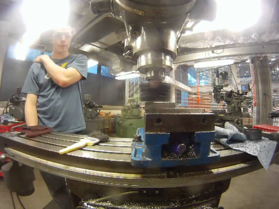 Face milling a steel blank ford motor company for Engineering design firm