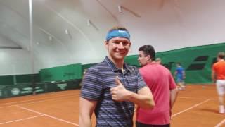 Тренировка по большому теннису для взрослых в Екатеринбурге