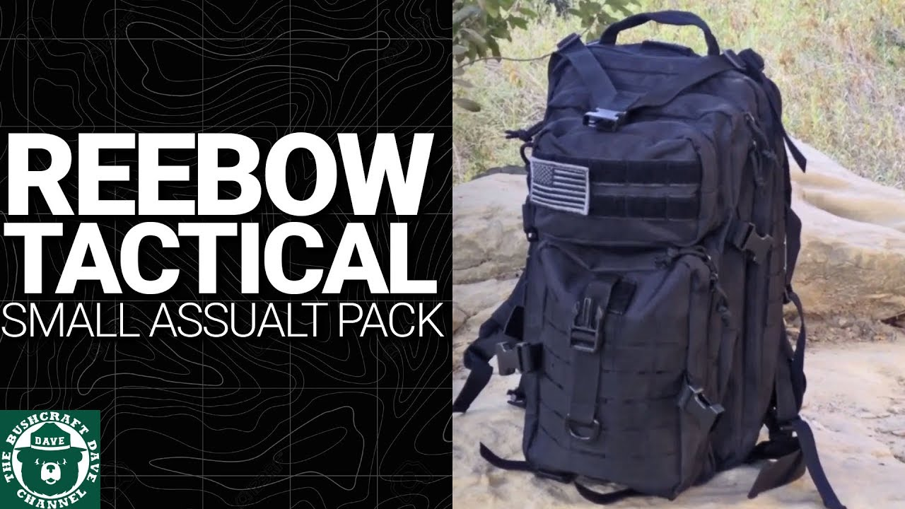e0e56d14dd Reebow Tactical Small Assault Pack  Update! Zipper Broke! - YouTube