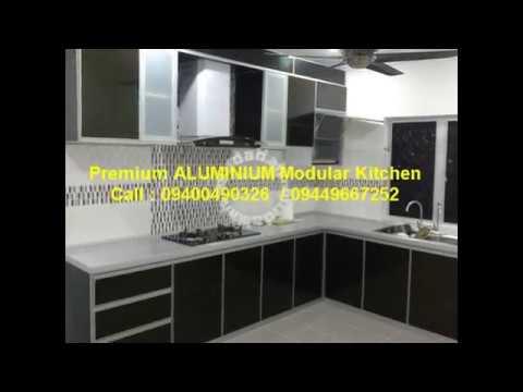 Kitchen Shutters White Granite Countertops Acrylic In Thrissur Kerala Call 9400490326 Youtube