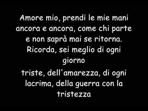 Tiziano Ferro - L'Amore è una Cosa Semplice -  (Con Testo)