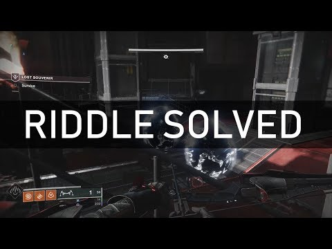 Destiny 2: Mysterious Datapad Riddle Solved In Niobe Labs (Lost Souvenir Mission, Black Armory)