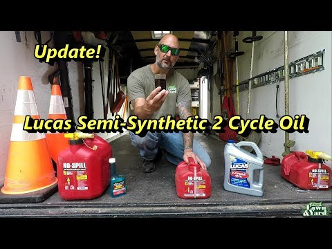 Switch to Lucas Semi-Synthetic 2 Cycle Oil, UPDATE!
