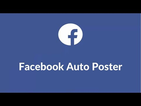 Facebook Auto Poster - Automatically Post To All Groups, Pages And Friends Timeline