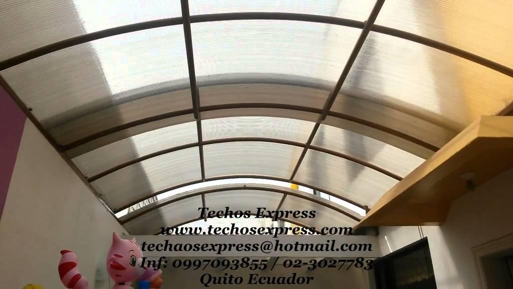 Techos corredizos curvos cubiertas corredizas pergolas - Cubiertas para techos ...
