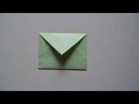 How To Make A Simple DIY Envelope - DIY Crafts Tutorial - Guidecentral