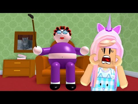 ROBLOX Escape Evil Granny's House Obby   Let's Play Roblox Video Games