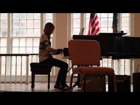 L. Huber, Fall Recital 2016