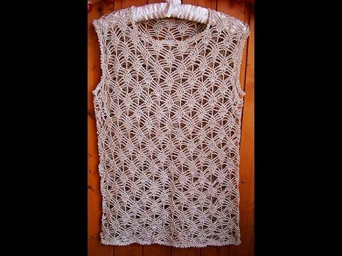 Crochet Patterns For Crochet Blouse Patterns 1267 Youtube