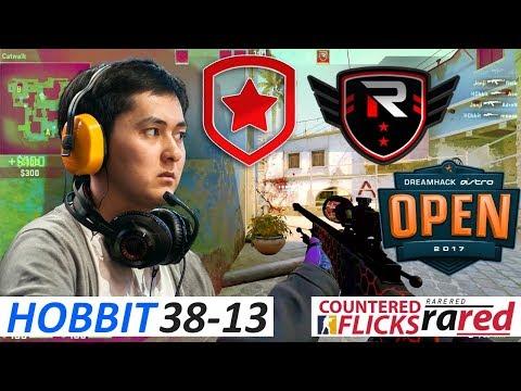HObbit 38-13 / Gambit vs Rise Nation / DreamHack Open Winter 2017 - Group A