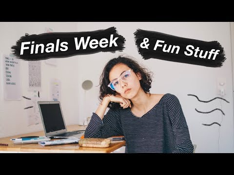 FINALS WEEK & FUN TIMES 🌼  | WHERE I'VE BEEN