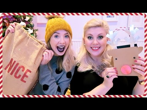 Christmas Gift Giving with Louise 2016 | Zoella