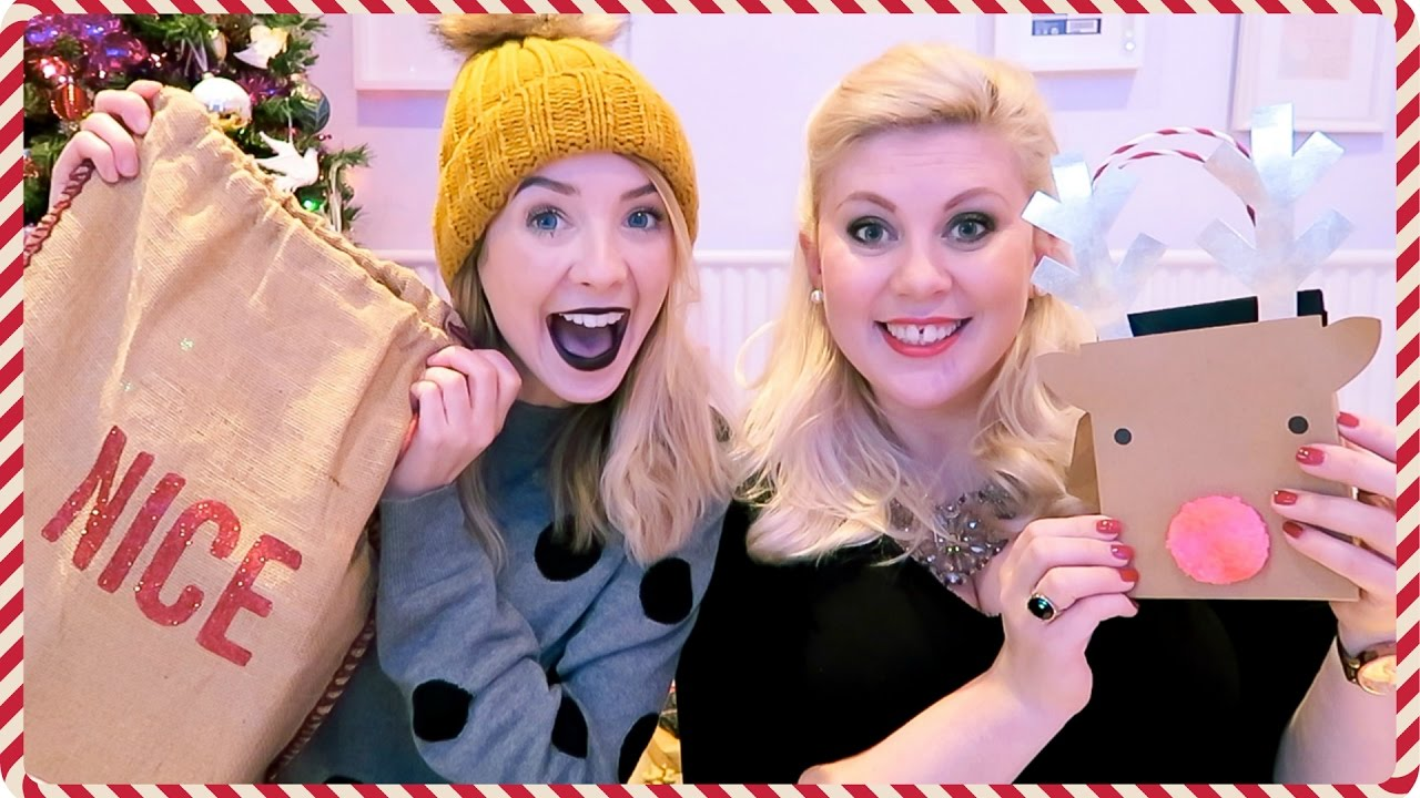 Christmas gift giving with louise 2016 zoella youtube negle Images