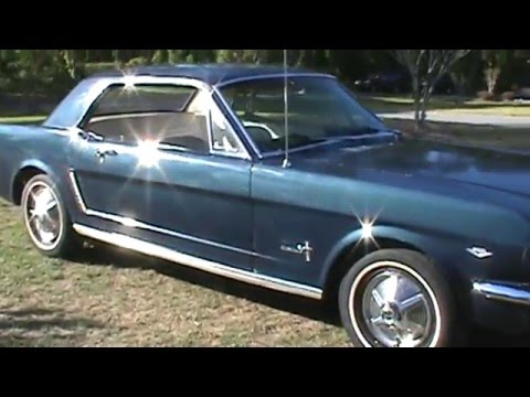 1965 Mustang 3 Owner All In North Carolina Old