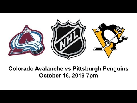 Colorado Avalanche Vs Pittsburgh Penguins Live Reaction + Chat