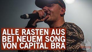 Capital Bra schreibt Minuten vor Auftritt neuen Song – und alle rasten aus!