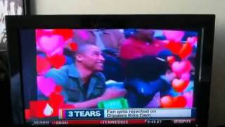 Teyana Taylor get caught on kiss cam lol !!!