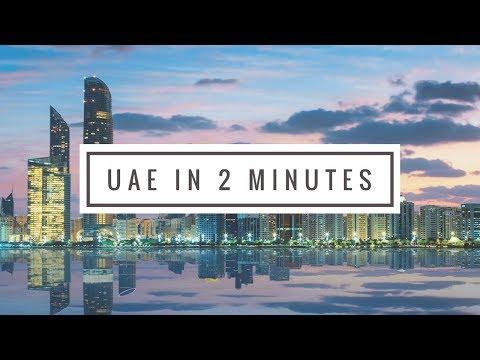 United Arab Emirates in 2 minutes (vlog)