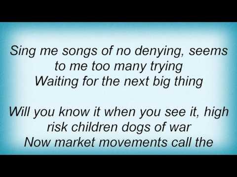 Midnight Oil - Us Forces Lyrics