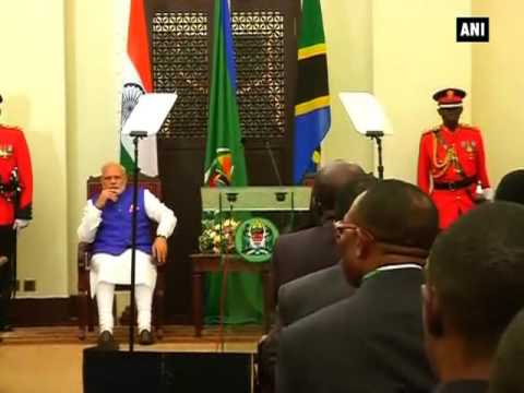 India, Tanzania sign five agreements in Dar-Es-Salaam - ANI News