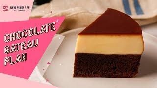 Bánh Flan Bông Lan Sôcôla (Chocolate Gateau Flan) | Học làm bánh ngon | Hướng Nghiệp Á Âu