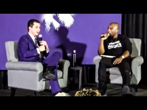 CRINGE: Buttigieg Calls Dark Money 'Black Money' in Room Full of Black People