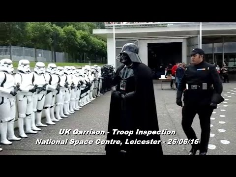 UK Garrison 501st - National Space Centre, Leicester - Troop Inspection (26/06/16).