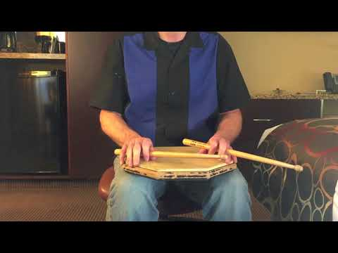 Drumming Check Pattern Exercise in 7/8