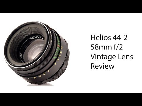 Vintage Lens Review - Helios 44-2 58mm F/2 With Fuji X-T20